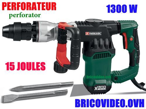 Parkside Abbruchhammer pah 1300 a1 lidl