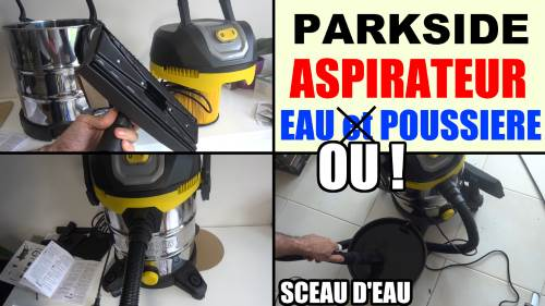 Parkside wet and dry vacuum cleaner lidl test advice customer reviews price instruction manual technical data video for domestic wet and dry vacuuming in, for example, the house, work room, car or garage.