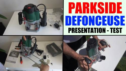Router parkside parkside pof 1200 b2 lidl test advice customer reviews price instruction manual technical data for cutting notches, edges, long holes and profiles etc.