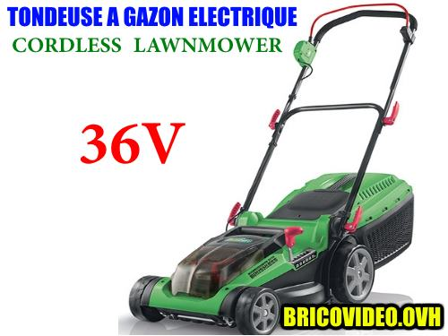 Florabest cordless lawnmower 36V 2600 mAh FRMA 36/1 a1 lidl advice customer reviews price instruction manual technical data test for mowing domestic lawns and grass area