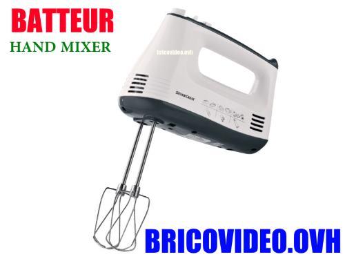 silvercrest hand mixer shmsb 300 a2 lidl