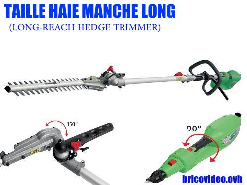 Florabest long reach hedge trimmer lidl fhl 900 d4