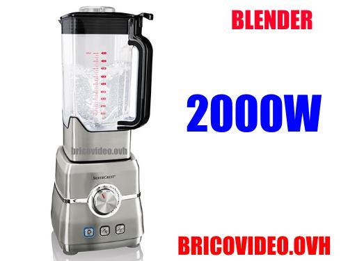 Lidl power blender 2000w silvercrest ssmp 2000