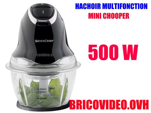 Lidl mini chopper 500w silvercrest smzc 500 a1