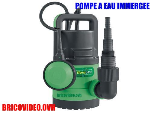 Lidl Submersible Water Pump florabest FTP 400