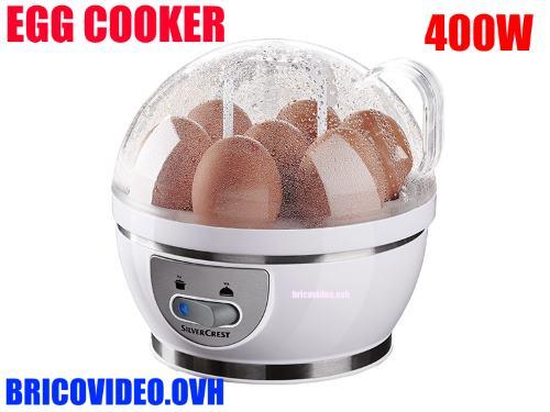 Lidl egg cooker silvercrest sek 400w