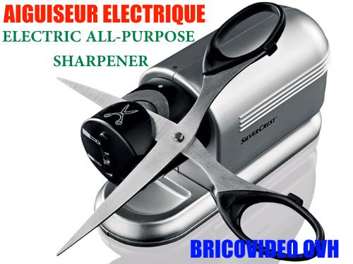 Lidl Electric All-Purpose Sharpener silvercrest seas 20w