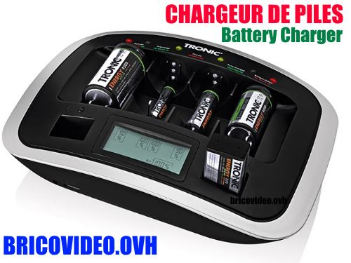Tronic universal battery charger lidl tlg 1000