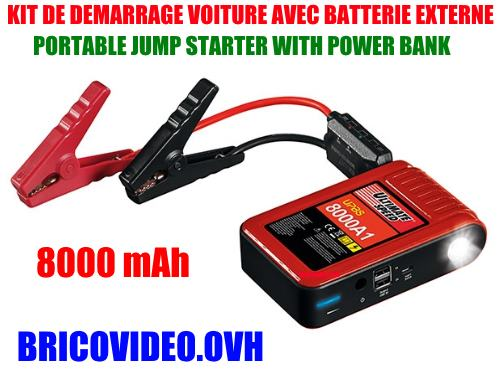 Lidl Portable Jump Starter Ultimate speed upbs 8000