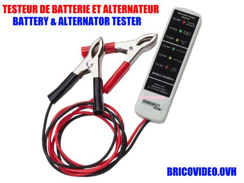 Powerfix battery and alternator tester lidl pawsb 12 a1 accessories test advice customer reviews price instruction manual technical data