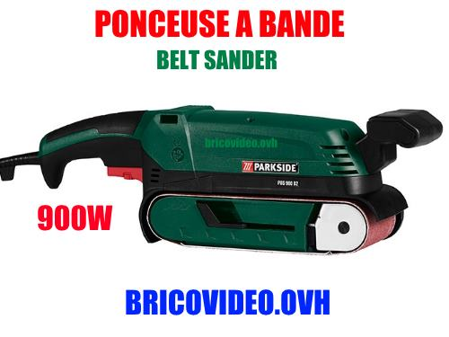 Parkside belt sander lidl pbs 900w
