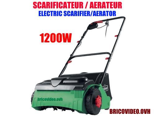 Florabest electric scarifier aerator florabest FLV 1200