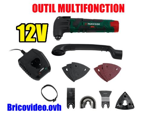 Parkside 12V cordless multi-purpose tool pamfw 12 Lidl 19000 rpm