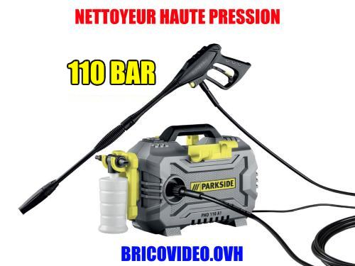 Lidl pressure washer parkside phd 110 bar 1300 w 11 mpa accessories video manual