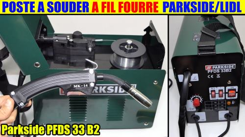 Lidl Flux-Cored Wire Welder Parkside PFDS 33 B2 90A UNBOXING