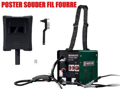 Parkside Flux-Cored Wire Welder PFDS 33 B2 40A 55A 70A 90A