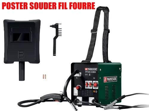 Parkside Flux-Cored Wire Welder PFDS 33 B2 40A 55A 70A 90A